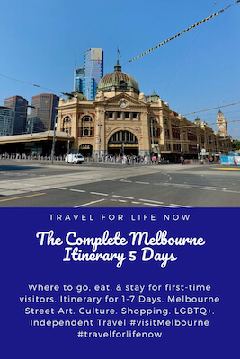 Melbourne Itinerary 5 Days