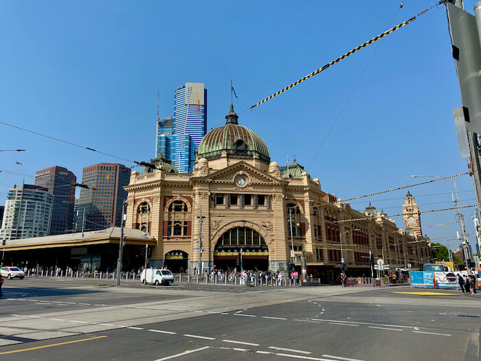 Flinders St Station Melbourne Attractions