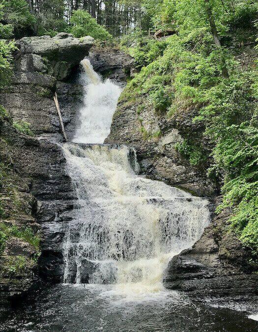 Milford PA Raymondskill Waterfall